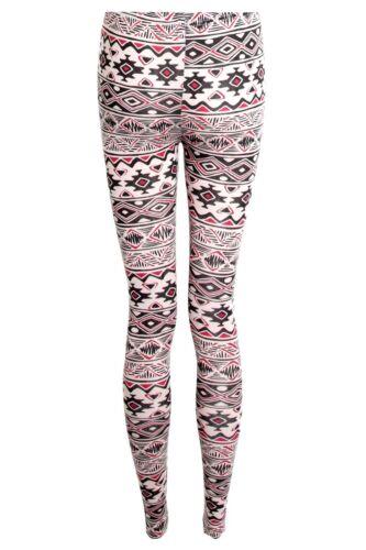 Women/'s Nebula Aztec Skull Stripe Bone Peace Galaxy Tie Dye Ladies Leggings