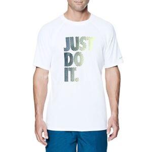 Desteñido Blanco Neopreno Manga Hydro Natación Detalles Guardsamp; Corta De Nike Camiseta yN0O8nwvm