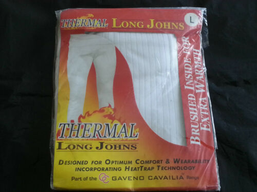 MEN/'S THERMAL LONG JOHNS UNDERWEAR WITH HEAT TRAP TECHNOLOGY
