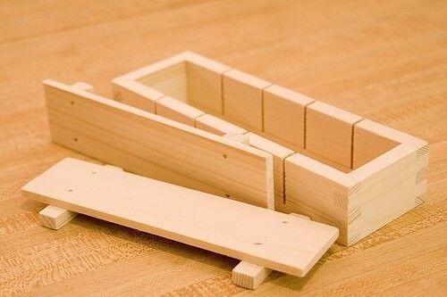 Wooden Sushi Press XL Sushi Mold
