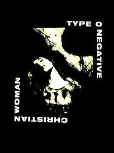 TYPE-O-NEGATIVE-cd-lgo-CHRISTIAN-WOMAN-Official-SHIRT-3XL-New-bloody-kisses