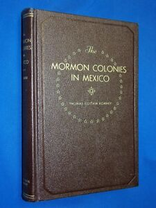 Details about 1938 Mormon Colonies in Mexico 1st Ed Hardcover Thomas C  Romney LDS Maps History