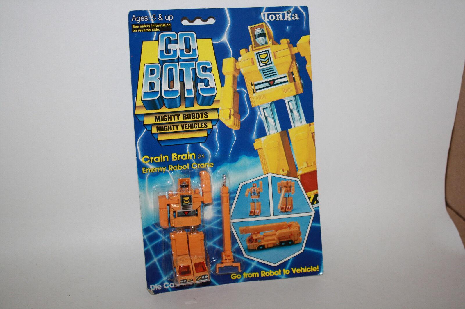 Vintage Tonka GoBots Crain Brain Enemy Enemy Enemy Robot