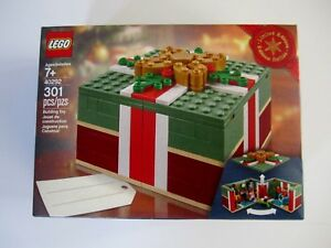 40292 Lego Christmas Gift Box Limited Edition 301 Pieces New In