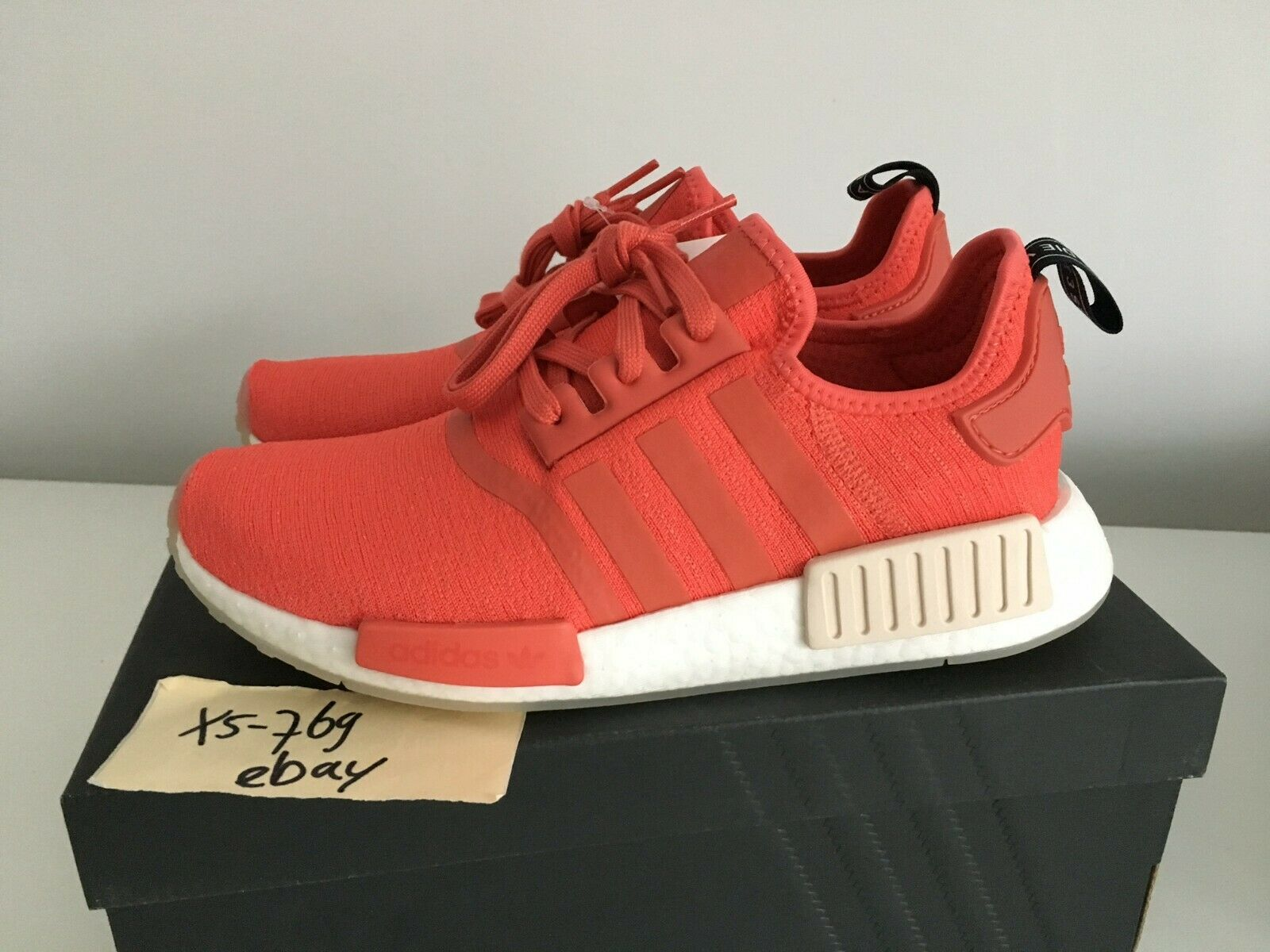 Adidas NMD R1 Wmns Trace Scarlet CQ2014 W Red White Black 3m 9 41 DS New in box