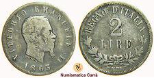 VITTORIO EMANUELE II -  2 LIRE VALORE 1863 NAPOLI (NC) - SAVOIA (nc1459)