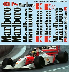 1//43 McLaren Ford MP4//8 1993 Decals TB Decal TBD265