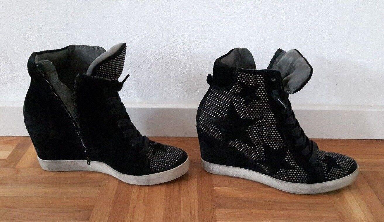 Kennel Schmenger (5), Keilsneaker, Wedge, Größe 38 (5), Schmenger Schwarz 76c8bc