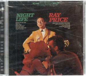 Ray-Price-Night-Life-12-Track-Sealed-CD-w-Cracked-Case