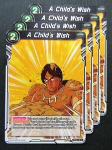 A-Child-039-s-Wish-C-x4-Dragon-Ball-Super-Cards-8D16