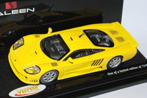 Saleen S7 Coupe Gelb 2002 1//43 Vitesse Modell Auto mit oder ohne individiuellem