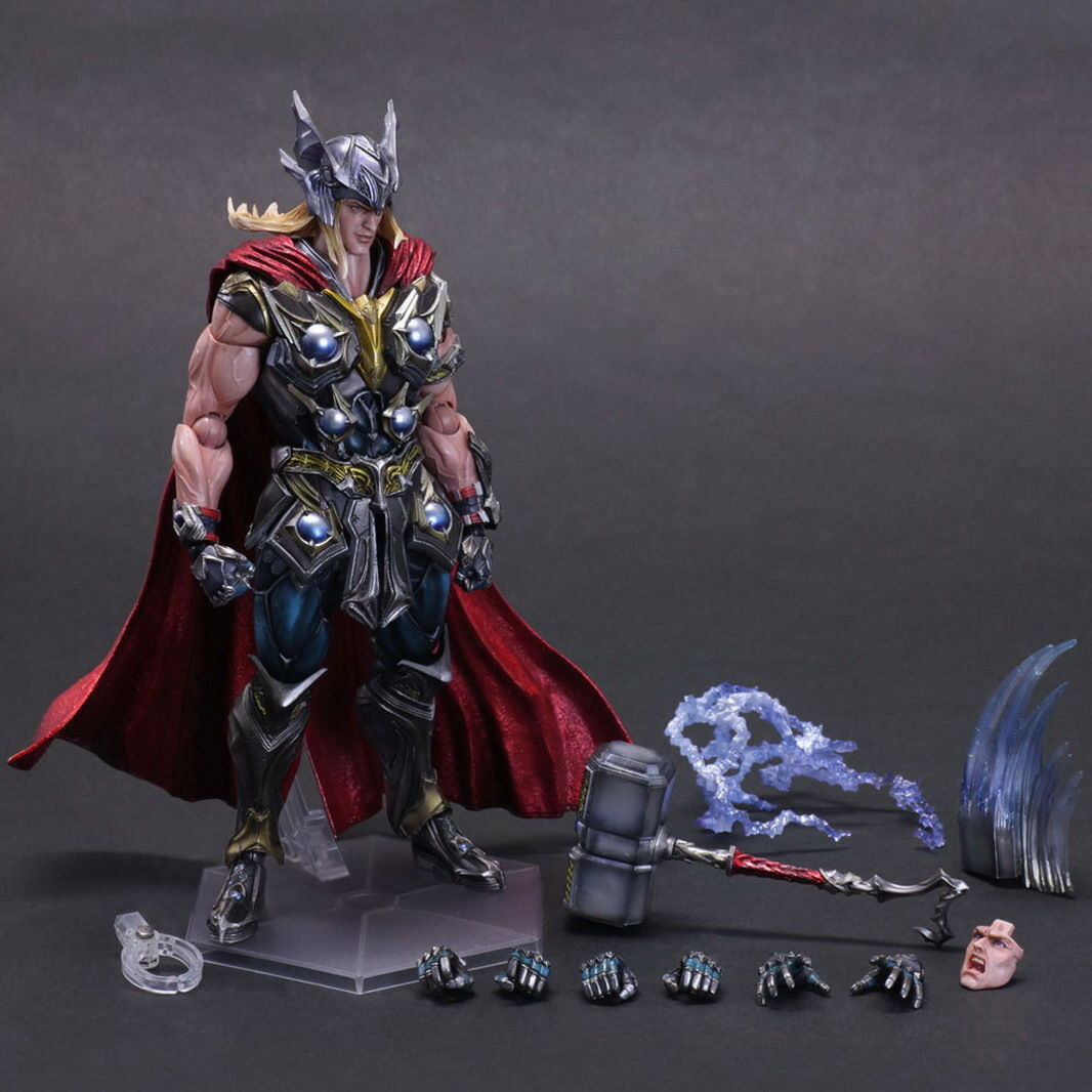 SQUARE ENIX Marvel Universe Variant Play Arts Kai Thor Action Figure Model Toy
