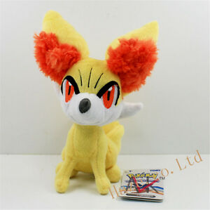 Cute-Pokemon-Go-Fennekin-Anime-Doll-Soft-Plush-Toy-9-034-Kids-Xmas-Gift