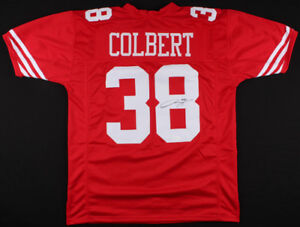 new concept 8f15f 10c5f Details about Adrian Colbert Signed 49ers Jersey (TSE Hologram) San  Francisco Rookie Safety
