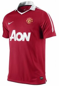 cc2082f99 Image is loading Genuine-Nike-Manchester-United-Home-Shirt-2010-2011-