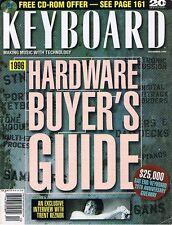 1995 KEYBOARD Hardware Guide: Roland DM-800 80, AKAI DR16 DR8 E-mu, Trent Reznor