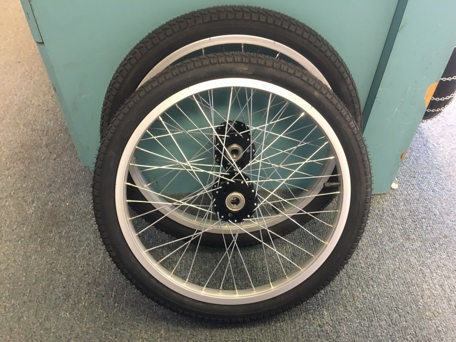 20  Trailer Garden Cart Hunting Beach Wheels Tires Tubes Trike Bicycle