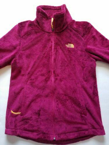 The North Face Full Zip Fleece Jacket Magenta w/ O