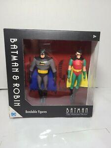 NJ-Croce-Batman-and-Robin-Bendable-Action-Figures-DC-Comics-5-034-NEW