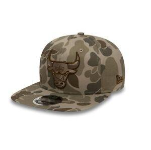 b9b714fecfb New Era 9FIFTY NBA Chicago Bulls Desert Camouflage Adjustable ...