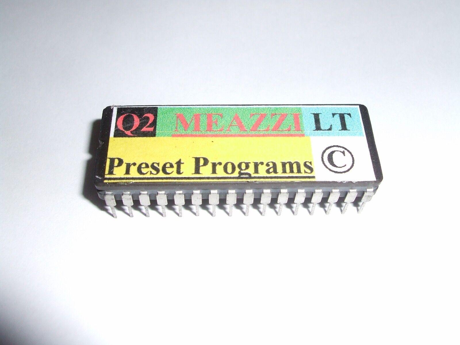 Alesis Quadraverb 2-MEAZZI Presets EPROM - 100 Sombras LT LT LT ecos derechos de autor.  barato y de alta calidad