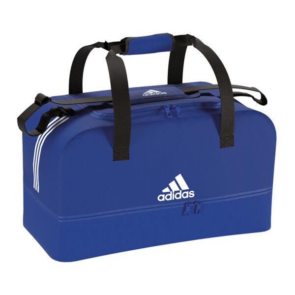 Adidas Tiro Duffel Bag Borsa Taglia M Blu Bianco