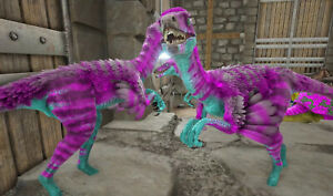 Ark Survival Evolved Xbox One PvE x2 200+ Cotton Candy Troodon Fertilized Eggs