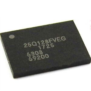 2 x 100/% New W25Q128FVEIG W25Q128FVEG 25Q128FVEG QFN-8 Chipset