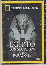 DVD - Egipto Los Secretos De Los Faraones NEW National Geographic FAST SHIPPING!