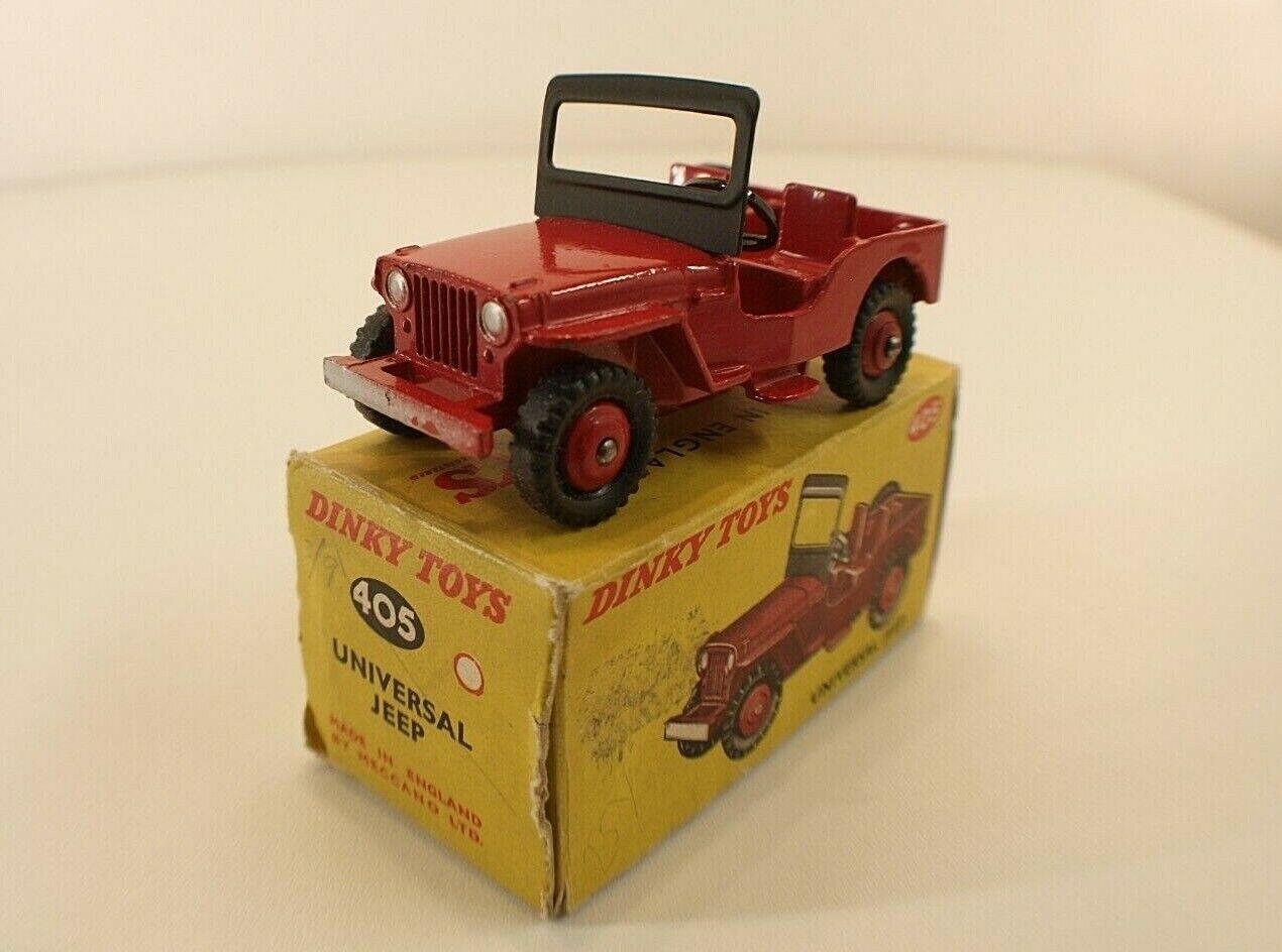 Dinky Toys Gb n° 405 Universal Jeep en boîte
