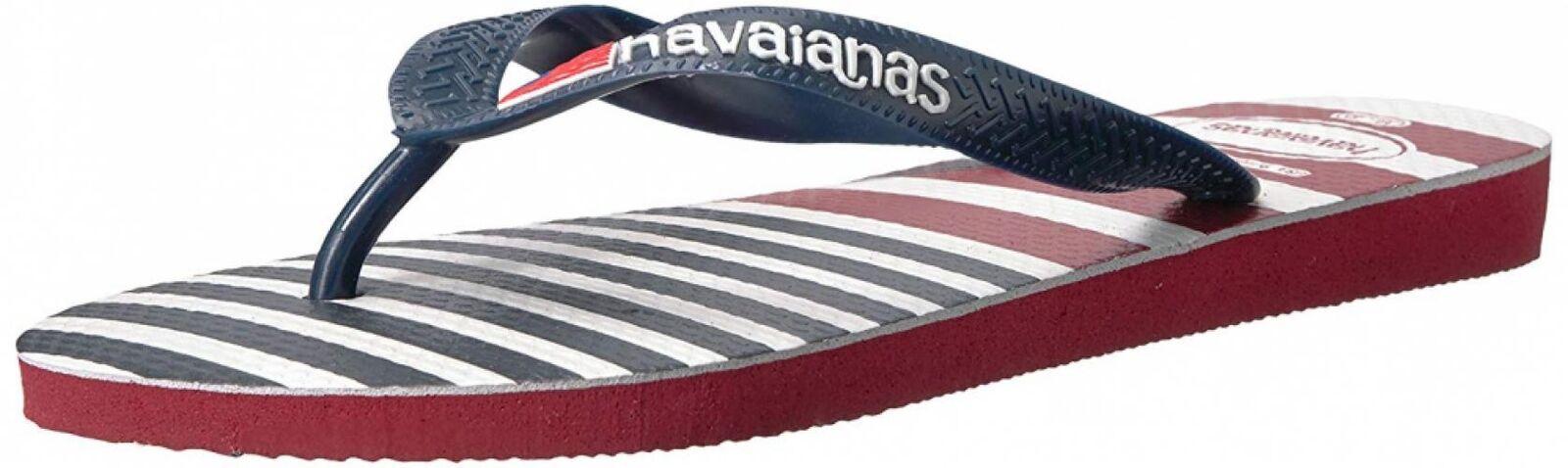 Havaianas Men's USA Stripe Logo Sandal
