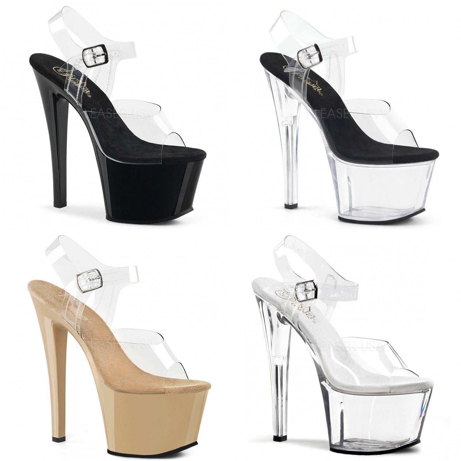 Pleaser Sky-308 Pole Lap danse Talon Aiguille Bride Cheville Sandales Chaussures