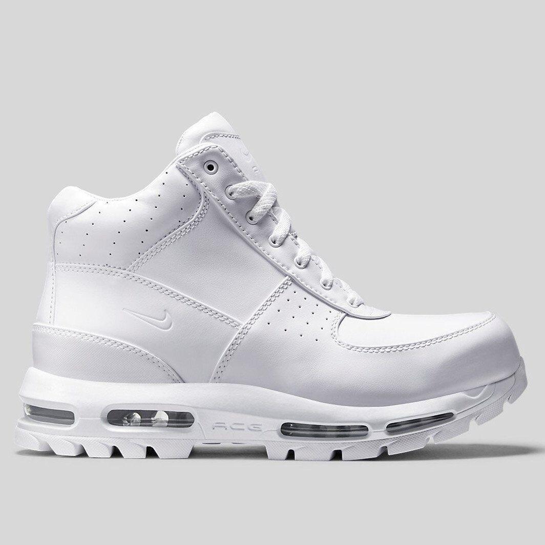 Nike air max goadome 2013 qs stivali triplo white-white tutti 822206-111 sz