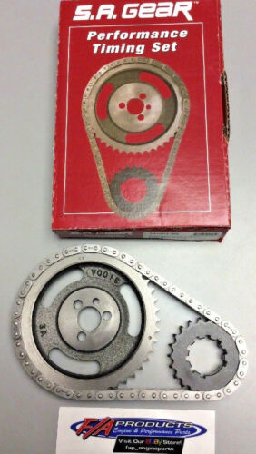 GEAR 78100T9R Small Block Chevy 283 350 Torrinton Bearing Roller Timing Set S.A