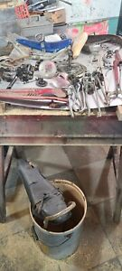vintage bicycle parts Schwinn Stingray banana seat, sissy bar, pedals