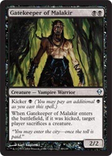 x1 1x Zendikar Near Mint Gatekeeper of Malakir English -BFG- MTG Magic