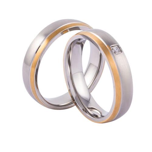 Verlobungsringe Freundschaftsringe Paarringe Silber Gold Zirkonia Gravur möglich