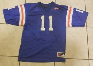 Authentic-Rare-Florida-Gators-STEVE-SPURRIER-11-Football-Jersey-Size-LARGE-NIKE