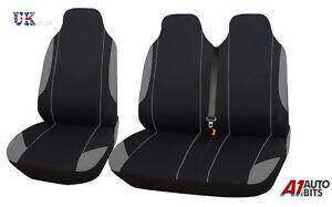 Opel-Vivaro-Sportive-01-14-Siege-Housses-Gris-Noir-Confort-Tissu-Pour-2-1