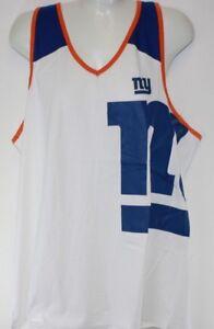 NEW Womens NFL Apparel New York NY Giants V Neck Muscle Tank Top ... 4e7b7484d0
