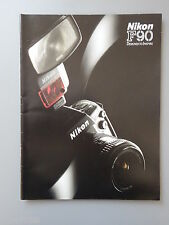 R&L Sales Promo Brochure for Nikon F90 35mm SLR Camera