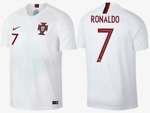 the latest 5cf0d aaf5a Details about NIKE CRISTIANO RONALDO PORTUGAL AWAY JERSEY WORLD CUP 2018.