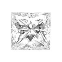 1.50 Ct I Vs2 Princess Cut Loose Diamond Gal Graded