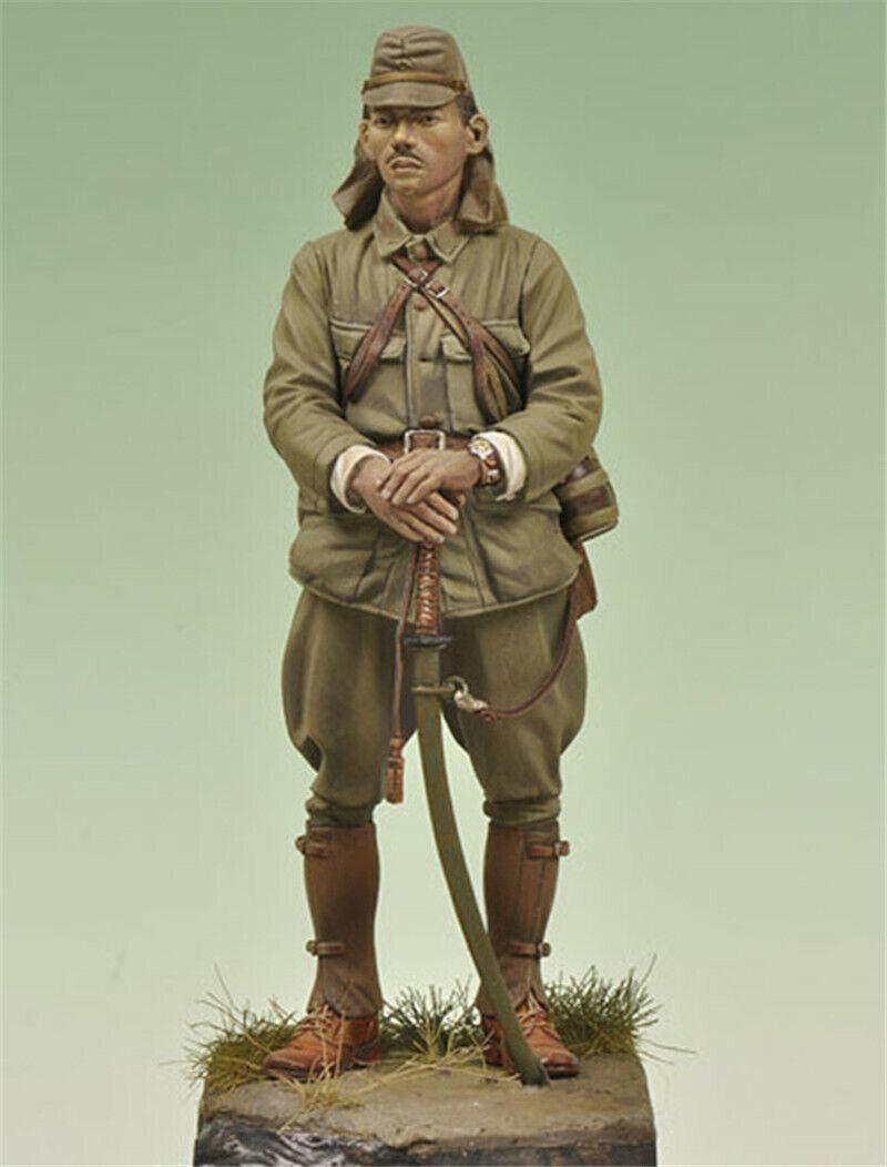 1 20 WW2 Japanese Soldier Resin Kits Model GK Unpainted Unassembled