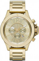 Mens Armani Exchange Ax Gold Champagne Xl Watch - Ax1504 - Rrp £249
