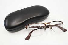 Ray-Ban RB 6335 2758 Semi-Rim Bronze/Brown Authentic Eyeglasses 54mm w/Case 1530