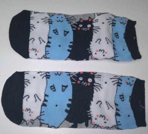 Details about  /New CAT Lover SOCKS Kitty Kitten Womens Footwear 6-9 Novelty Meow