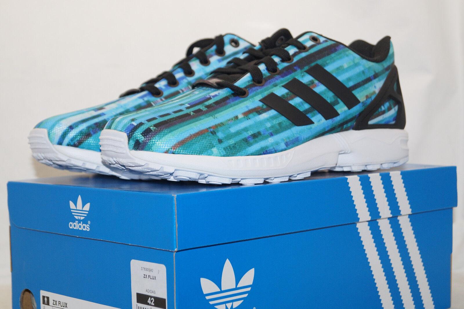 Adidas ZX FLUX TORSION EU 42 UK 8 Running Running Running Schuhes türkis blau s76505 Laufschuhe 7e7193