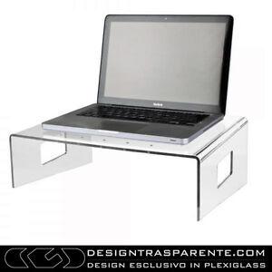 Servilio-supporto-per-portatile-in-plexiglass-trasparente-porta-pc