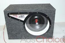 "Road Thunder 10"" Single Reflex Bandpass Car Subwoofer System w Box Enclosure"